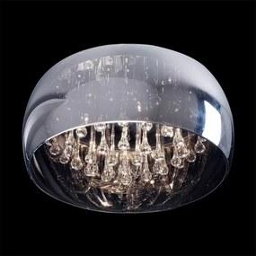 Luxera 46054 Stropné svietidlo SPHERA G9, 33W, IP20, chrómová/priehľadná chrómová