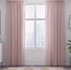 XPOSE ® Záclona IRIS - růžová 150x250