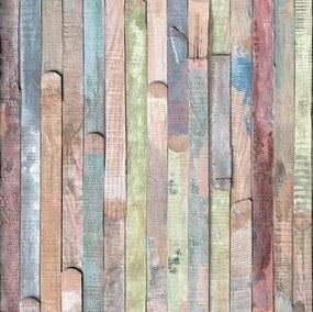 Samolepiaca tapeta Rio 343-1001, rozmer 45 cm x 1,5 m, desky barevné, d-c-fix