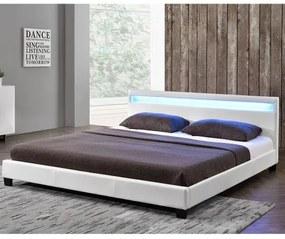 InternetovaZahrada - Čalúnená posteľ Paríž 140 x 200 cm, biela