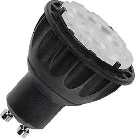 Svetelný zdroj SLV QPAR51 LED, žárovka, stmívatelná, GU10, 3000K, CRI90, nastavitelný úhel, černá 560603