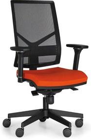 Antares Kancelárska stolička OMNIA, oranžová
