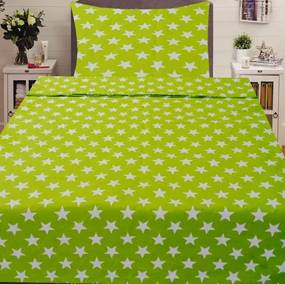 HoD Obliečky Hviezdičky2 Krep 70×90 140x200 cm