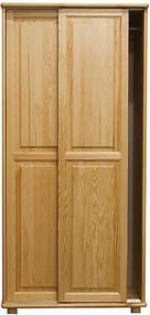 AMI nábytok skříň 2Dč6 šířka 90 borovice věšák