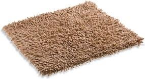 Škodák Kúpeľňová / WC predložka - koberček vzor Nopky 001 pieskovo hnedá - 55x55cm