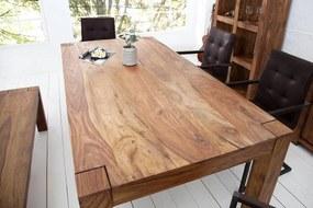 Jedálenský stôl z masívu Elegant 160cm