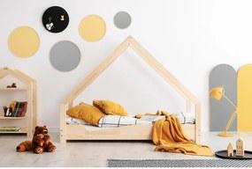 Domčeková detská posteľ z borovicového dreva Adeko Loca Ana, 80 x 160 cm