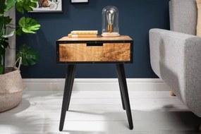 Nočný stolík Stream 45 cm mango