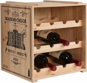 Butlers VINOTHEK Regál na víno - béžová