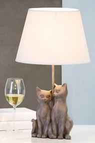 Bighome - Lampa CHAT PAIR - sivá