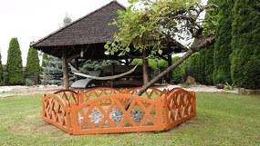Záhradný plôtik 2,3 m teracota