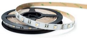 Ledco LC-R-5050SMD-30-00-RGBNW LED pás, 5050 SMD, 30pcs/m, 10W, IP00, RGB + 4000K, 24V, širka 12mm
