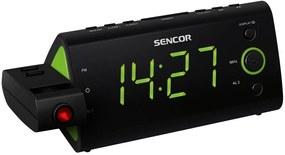 SENCOR SRC 330 GN Rádiobudík s projekciou 35039419