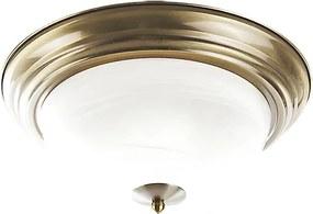 Rábalux Top 2806 Stropné Svietidlá bronz biely E27 2x MAX 60W Ø280 mm