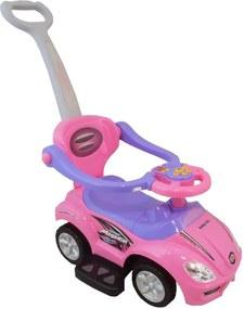carero Detské Jazdítko 3v1 Bayo Mega Car pink Ružová