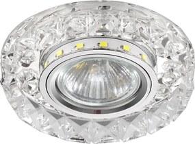 Luxera Luxera 71074 - Bodové svietidlo CRYSTALS 1xGU10/50W/230V + LED STRIPE 71074