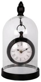 Závesné kovové kupolové hodiny