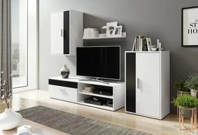 WIP BERNO obývacia stena Biely/čierny