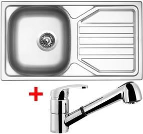 Set Sinks OKIO 780 V matný + batéria LEGENDA S