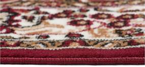 Kusový koberec PP Laila bordó, Velikosti 80x150cm