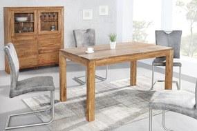 Bighome - Jedálenský stôl LAOSE 120 - prírodná