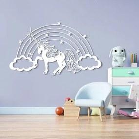 Nálepka na stenu s detským motívom - Jednorožec
