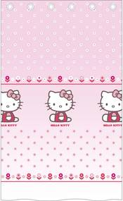 CTI záclona Hello Kitty Caroline polyester ružová 140/240 cm