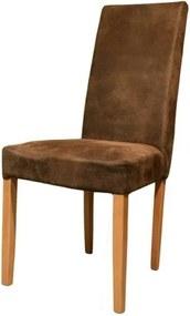 Sconto Jedálenská stolička CAPRICE buk/hnedá