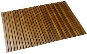 vidaXL Kúpeľňová predložka z akáciového dreva 80 x 50 cm