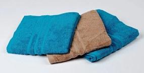 Dobrý Textil Osuška Economy 70x140 - Fialová | 70 x 140 cm