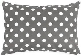 4Home Obliečka na vankúšik Sivá bodka, 50 x 70 cm, 50 x 70 cm