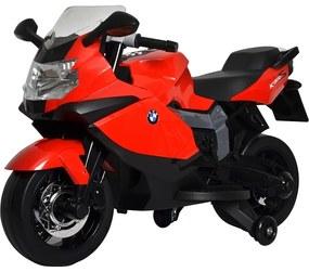 BUDDY BUDDY TOYS BEC 6010 Elektrická motorka BMW čierno-červená 57000402