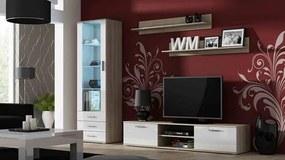 CAMA MEBLE Obývacia stena SOHO 1 Farba: dub sonoma/biela