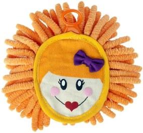 Mini prachovka Dolls na PC, rôzne farby oranžová G3547-oranžová