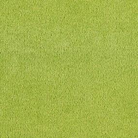 Metrážny koberec DYNASTIA zelený - 400 cm