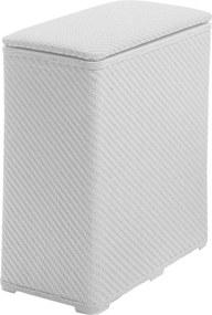 Ambrogio 203802 kôš na bielizeň 50x55x28 cm, biely