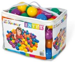 INTEX FUN BALLZ Loptičky do bazéna 8 cm, 100 ks 49600