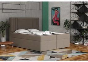 Americká posteľ 120x200 CARA - hnedá 3