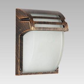 Vonkajšie nástenné svietidlo PREZENT AMALFI antická bronzová 39022