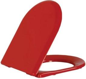 Paula KC3131.K0 WC sedátko Soft Close, červené