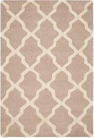 Vlnený koberec Ava Beige, 121 × 182 cm