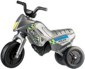 Odrážedlo Enduro Yupee Policie malé plast výška sedadla 26cm nosnost do 25kg 12m+