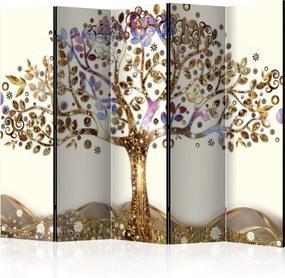 Paraván - Golden Tree II [Room Dividers] 225x172 7-10 dní