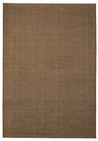 vidaXL Koberec, sisalový vzhľad, vnútorný/vonkajší, 140x200 cm, hnedý