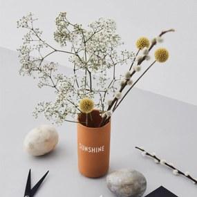 DESIGN LETTERS Porcelánová váza Sunshine 11cm