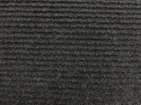 Vopi koberce Metrážový koberec Quick step antraciet - Rozměr na míru bez obšití cm