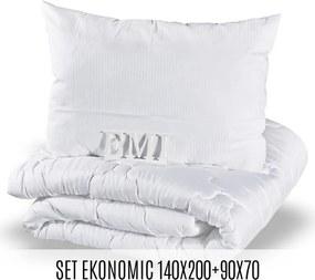 Set prikrývky a vankúša Ekonomic 140x200 70x90 EMI