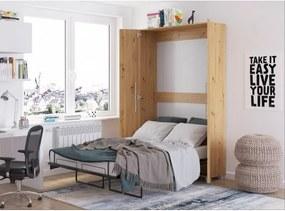 WIP TEDDY posteľ dub artisan 90x200 cm