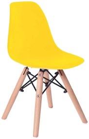 TZB Dětská židle PARIS žlutá