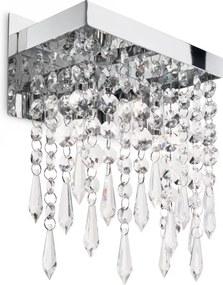 Ideal Lux 098784 nástenné svietidlo Giada transparente 5x40W | G9